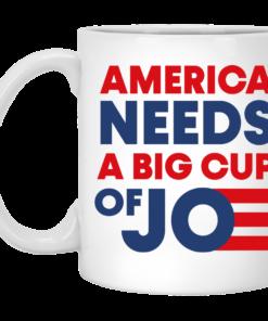 redirect 247x296px America Needs a Big Cup of Joe Biden 2020 Mug