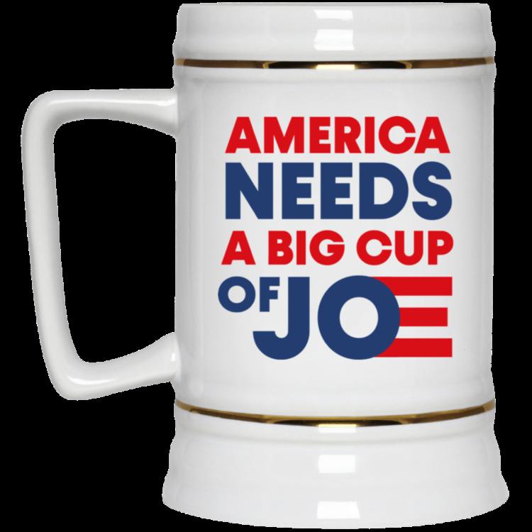 redirect 3 750x750px America Needs a Big Cup of Joe Biden 2020 Mug