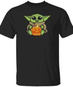 redirect 313 247x296px Baby Yoda Hug Pumpkin Shirt