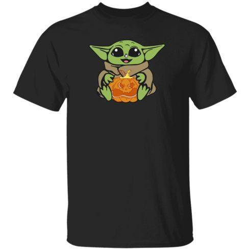 redirect 313 490x490px Baby Yoda Hug Pumpkin Shirt