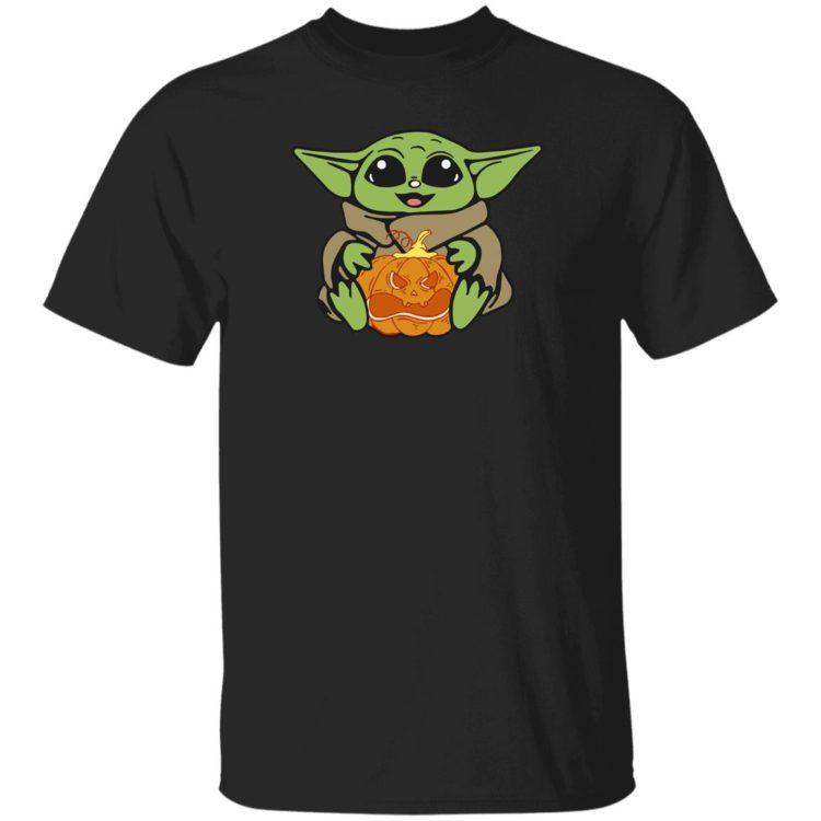 redirect 313 750x750px Baby Yoda Hug Pumpkin Shirt