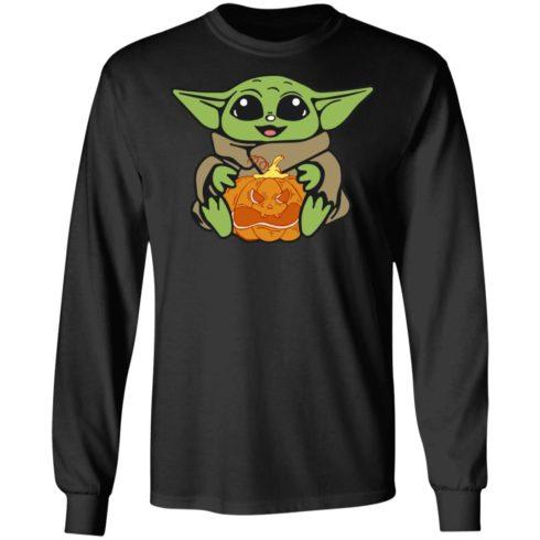 redirect 316 490x490px Baby Yoda Hug Pumpkin Shirt