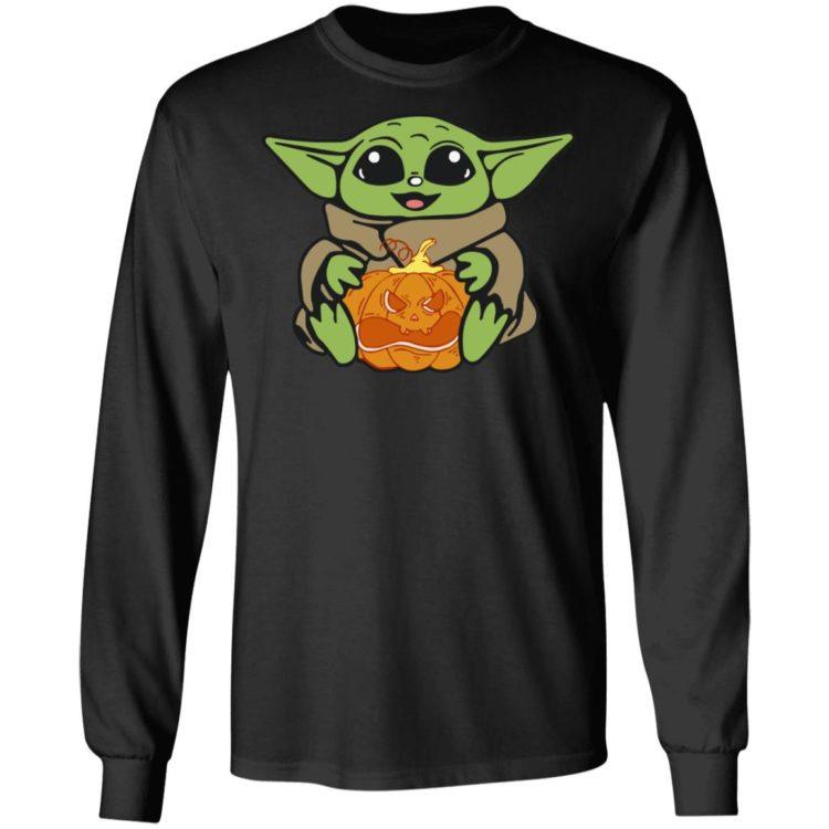 redirect 316 750x750px Baby Yoda Hug Pumpkin Shirt