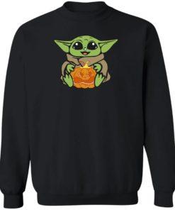 redirect 318 247x296px Baby Yoda Hug Pumpkin Shirt