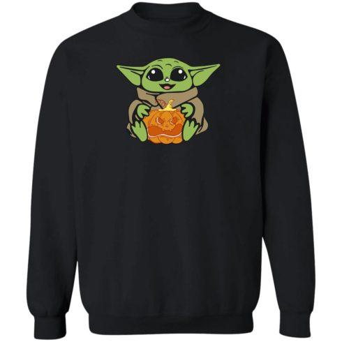 redirect 318 490x490px Baby Yoda Hug Pumpkin Shirt