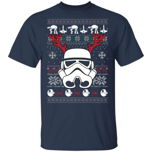 redirect 351 3 490x490px Stormtrooper Ugly Christmas Shirt