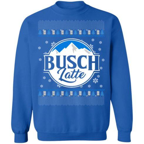 redirect 38 490x490px Busch latte Christmas Sweatshirt