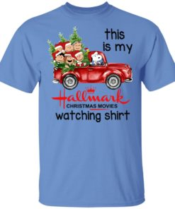 redirect 384 2 247x296px Snoopy This Is My Hallmark Christmas Movies Watching Shirt