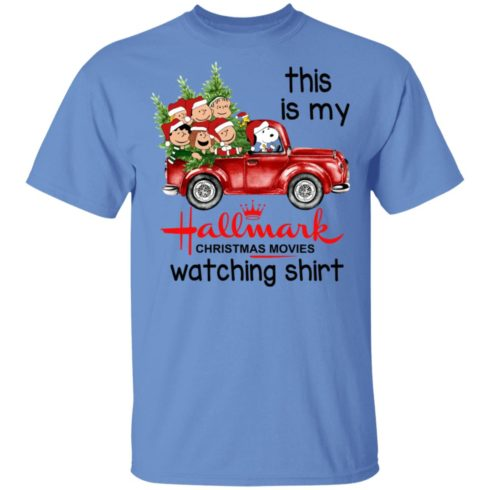 redirect 384 2 490x490px Snoopy This Is My Hallmark Christmas Movies Watching Shirt