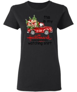 redirect 388 2 247x296px Snoopy This Is My Hallmark Christmas Movies Watching Shirt