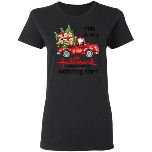 redirect 388 2 490x490px Snoopy This Is My Hallmark Christmas Movies Watching Shirt