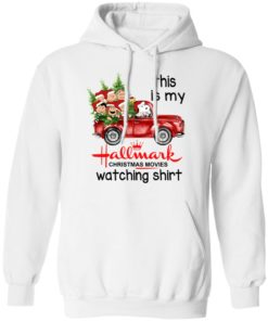 redirect 390 2 247x296px Snoopy This Is My Hallmark Christmas Movies Watching Shirt
