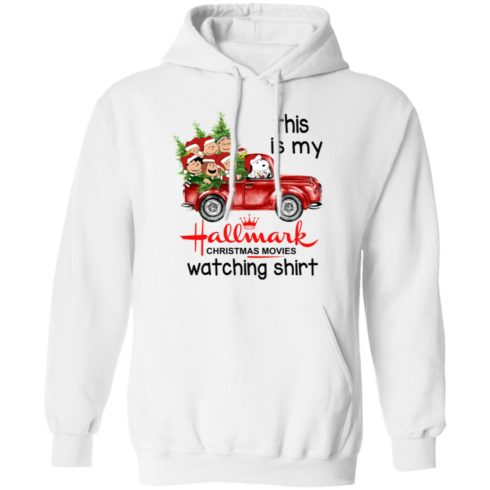 redirect 390 2 490x490px Snoopy This Is My Hallmark Christmas Movies Watching Shirt