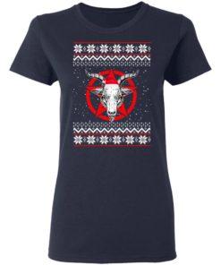 redirect 430 2 247x296px Satanic Pentagram Christmas Shirt