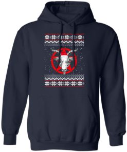 redirect 432 2 247x296px Satanic Pentagram Christmas Shirt