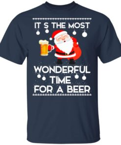 redirect 450 2 247x296px Santa It's The Most Wonderful Time Tor A Beer Shirt