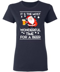 redirect 452 2 247x296px Santa It's The Most Wonderful Time Tor A Beer Shirt