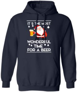 redirect 454 2 247x296px Santa It's The Most Wonderful Time Tor A Beer Shirt