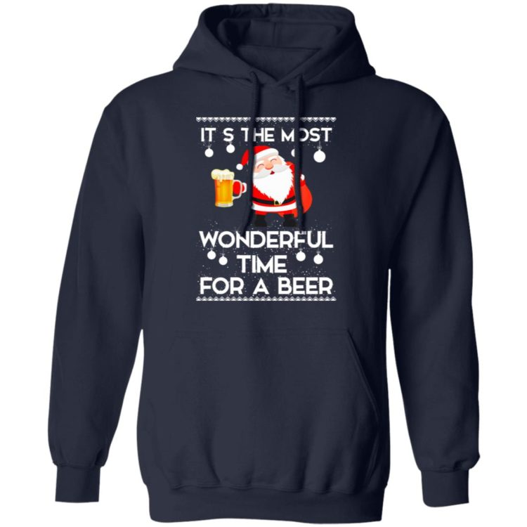 redirect 454 2 750x750px Santa It's The Most Wonderful Time Tor A Beer Shirt