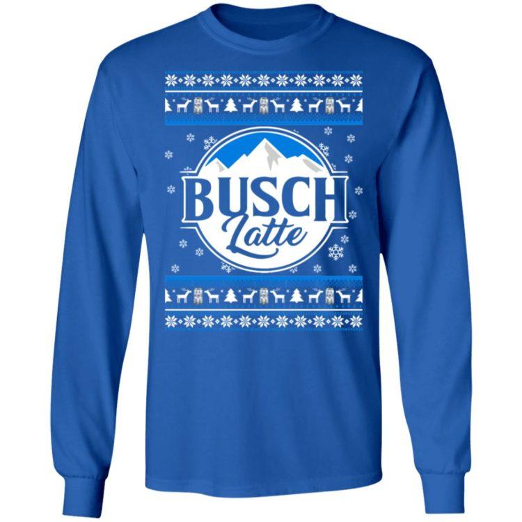 redirect 67 2 750x750px Busch latte Busch Light Christmas Sweatshirt