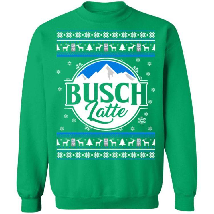 redirect 73 2 750x750px Busch latte Busch Light Christmas Sweatshirt