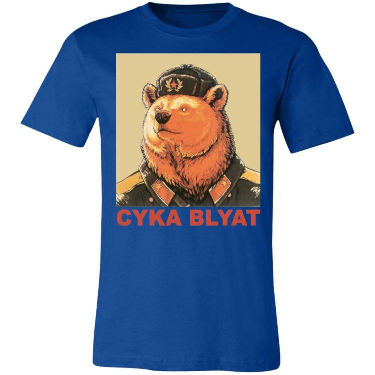 redirect 90 1 750x750px Cyka Blyat Russian Bear Ladies Shirt