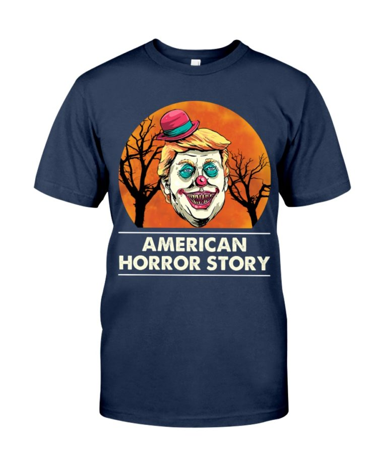 regular 377 3 750x938px American Horror Story Trump Clown Halloween Shirt