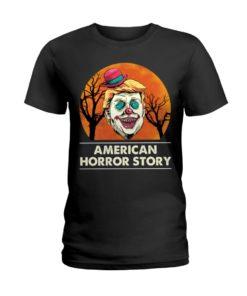 regular 378 3 247x296px American Horror Story Trump Clown Halloween Shirt