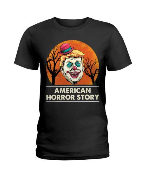 regular 378 3 490x613px American Horror Story Trump Clown Halloween Shirt