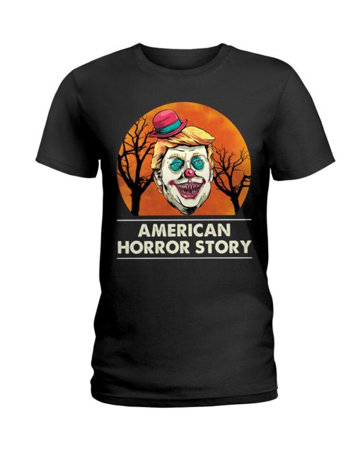 regular 378 3 750x938px American Horror Story Trump Clown Halloween Shirt