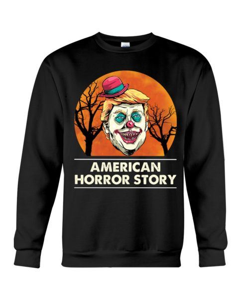 regular 381 3 490x613px American Horror Story Trump Clown Halloween Shirt