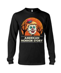 regular 382 3 247x296px American Horror Story Trump Clown Halloween Shirt
