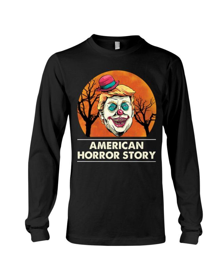 regular 382 750x938px American Horror Story Trump Clown Halloween Shirt