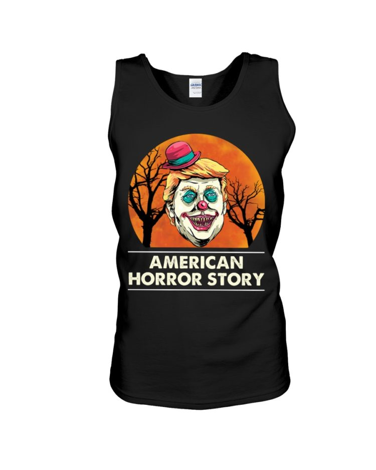 regular 383 3 750x938px American Horror Story Trump Clown Halloween Shirt