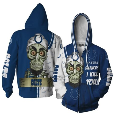 0x720@16053548223ff6d30203 490x490px Indianapolis Colts Haters Silence I Kill You Achmed The Dead Terrorist 3D Printed Christmas Sweatshirt