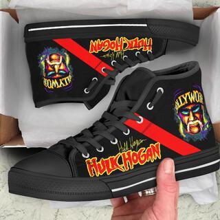 1606230022313 vObdw7gG1k 15px Hulk Hogan High Top Shoe for Men & Women
