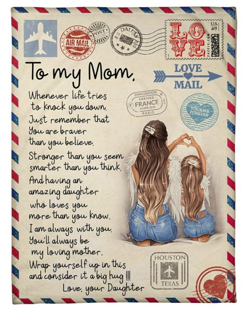 925.1606318333152.a23ykchd 5 490x613px To My Mom Love Mail Blanket