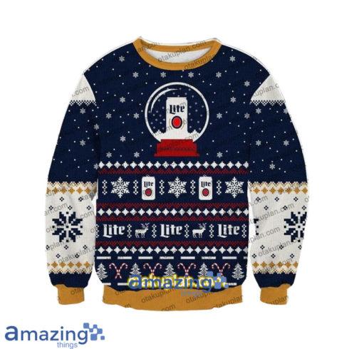 Lite Beer 3 D Printed Christmas Sweatshirt 490x490px Lite Beer 3D Printed Christmas Sweatshirt
