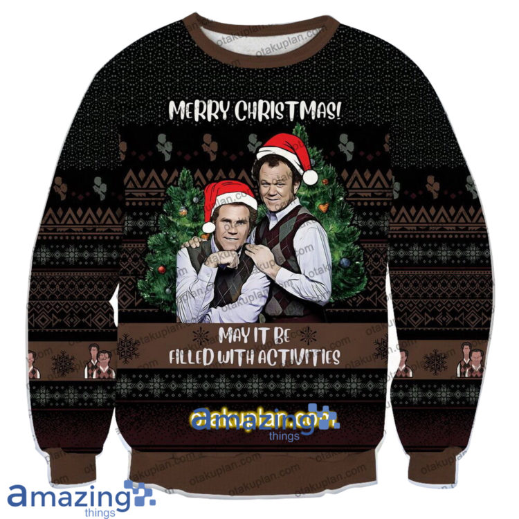 Step Brothers Merry Christmas May It Be Filled With Activities 3 D Printed Christmas Sweatshirt 750x750px Step Brothers Merry Christmas May It Be Filled With Activities 3D Printed Christmas Sweatshirt