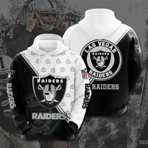 national football league las vegas raiders full printing shirt 2 490x490px Las Vegas Raiders 3D Printed Christmas Sweatshirt