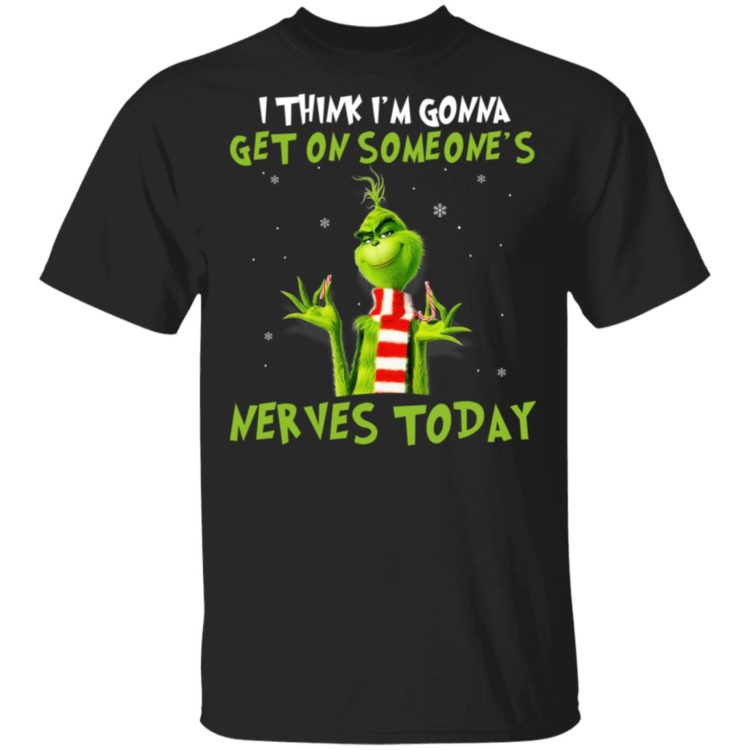 redirect11182020041105 750x750px The Grinch I Am Sorry The Nice Respiratory Therapist Is On Vacation Christmas Shirt