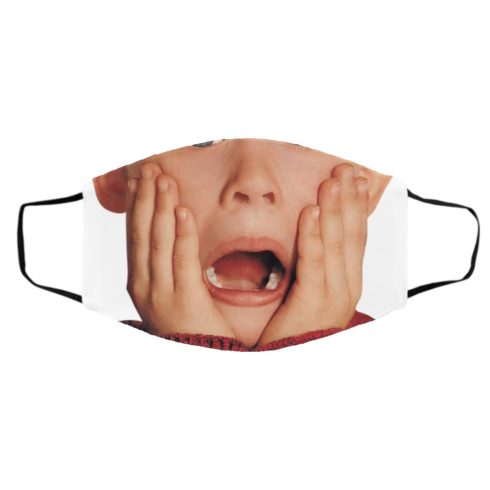redirect11242020041126 490x490px Kevin McCallister Home Alone Shocked Face Face Mask