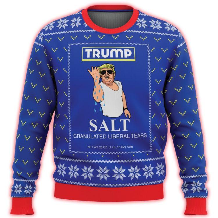 trump salt liberal tears all over printed ugly christmas sweater 3 750x750px Trump Salt Liberal Tears All Over Printed 3D Christmas Sweater