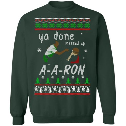 redirect12162020001202 3 490x490px Ya Done Messed Up Aaron Ugly Christmas Sweater