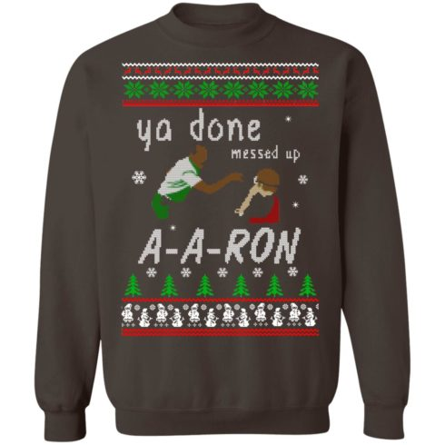 redirect12162020001202 5 490x490px Ya Done Messed Up Aaron Ugly Christmas Sweater