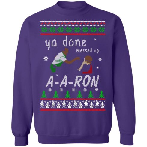 redirect12162020001202 6 490x490px Ya Done Messed Up Aaron Ugly Christmas Sweater