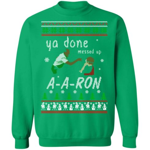 redirect12162020001202 7 490x490px Ya Done Messed Up Aaron Ugly Christmas Sweater