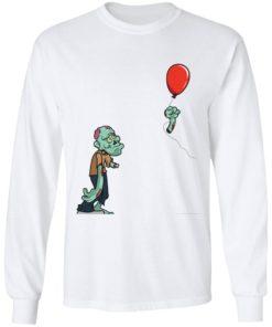 redirect09302021050931 1 247x296px Halloween zombie cut off arm balloon shirt