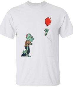 redirect09302021050931 4 247x296px Halloween zombie cut off arm balloon shirt