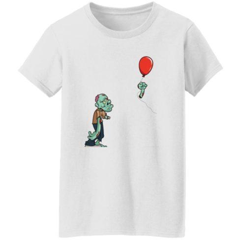 redirect09302021050931 6 490x490px Halloween zombie cut off arm balloon shirt